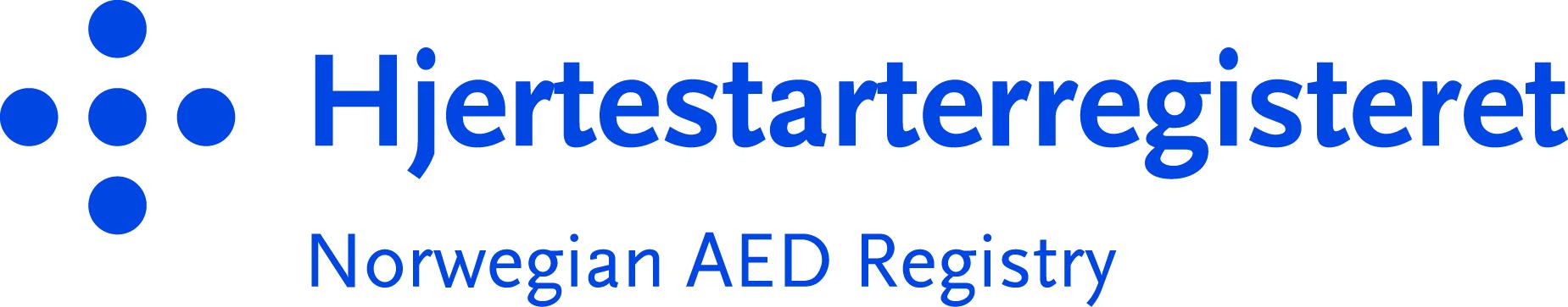 Logo Hjertestarterregisteret
