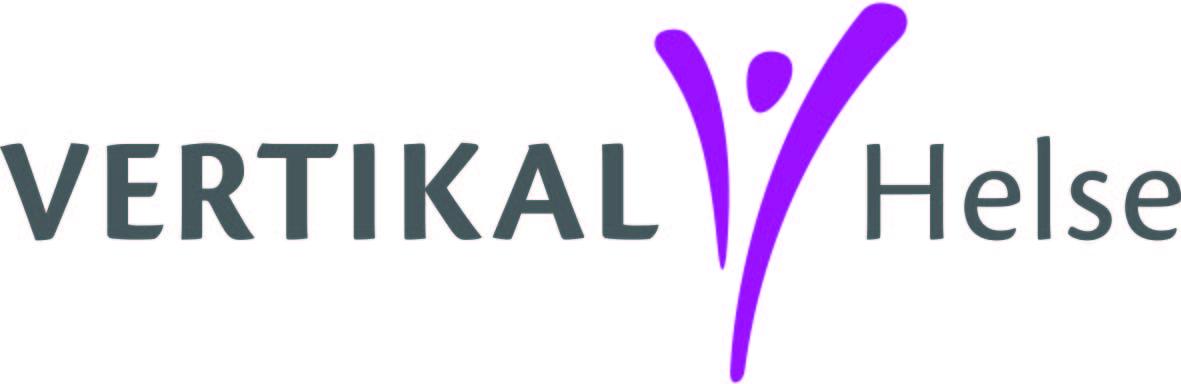 Vertikal helse logo